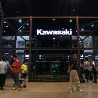 KAWASAKIのブース