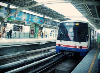タイの主要移動手段BTS