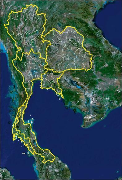 タイ風警戒区域