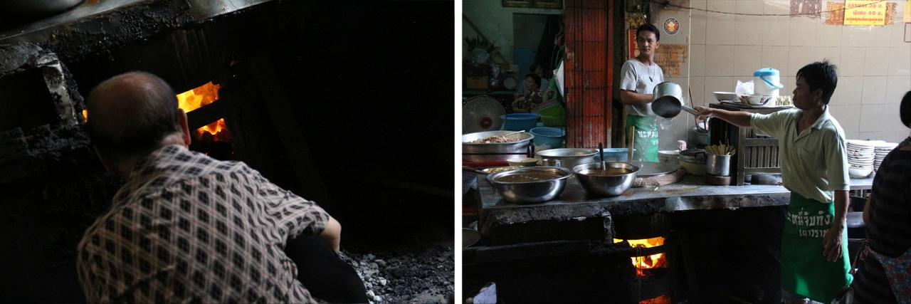 薪係と追加湯係の連携