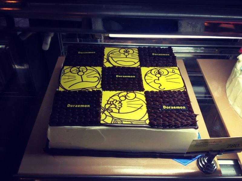 ドラえもんのデコレーションケーキその1