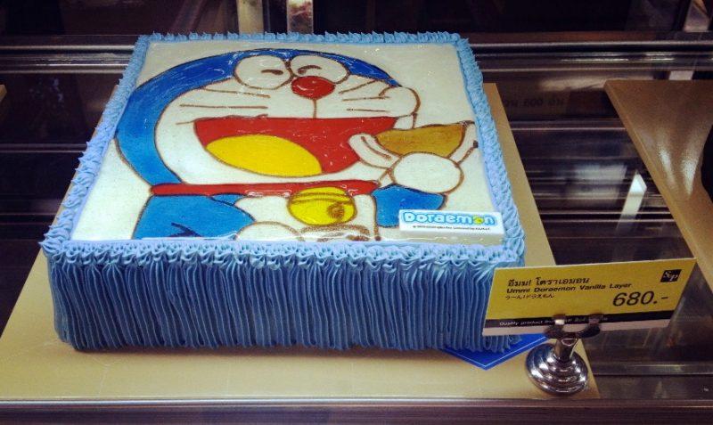 ドラえもんのデコレーションケーキその2