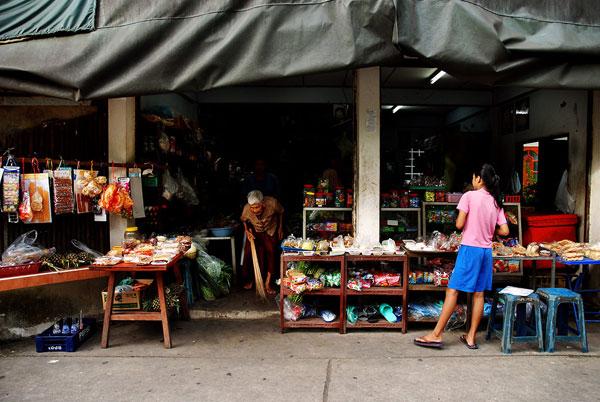タイの町並み