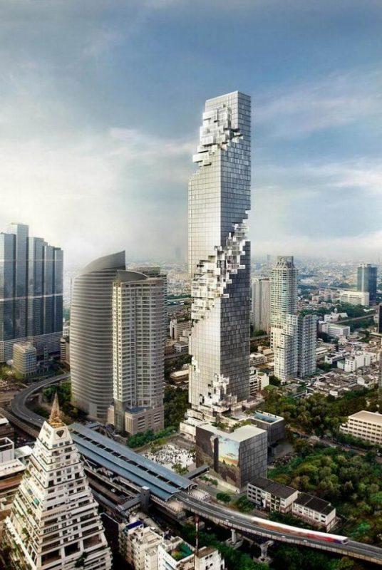 建設予定のマハナコンタワー
