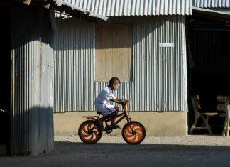 タイの爆走自転車