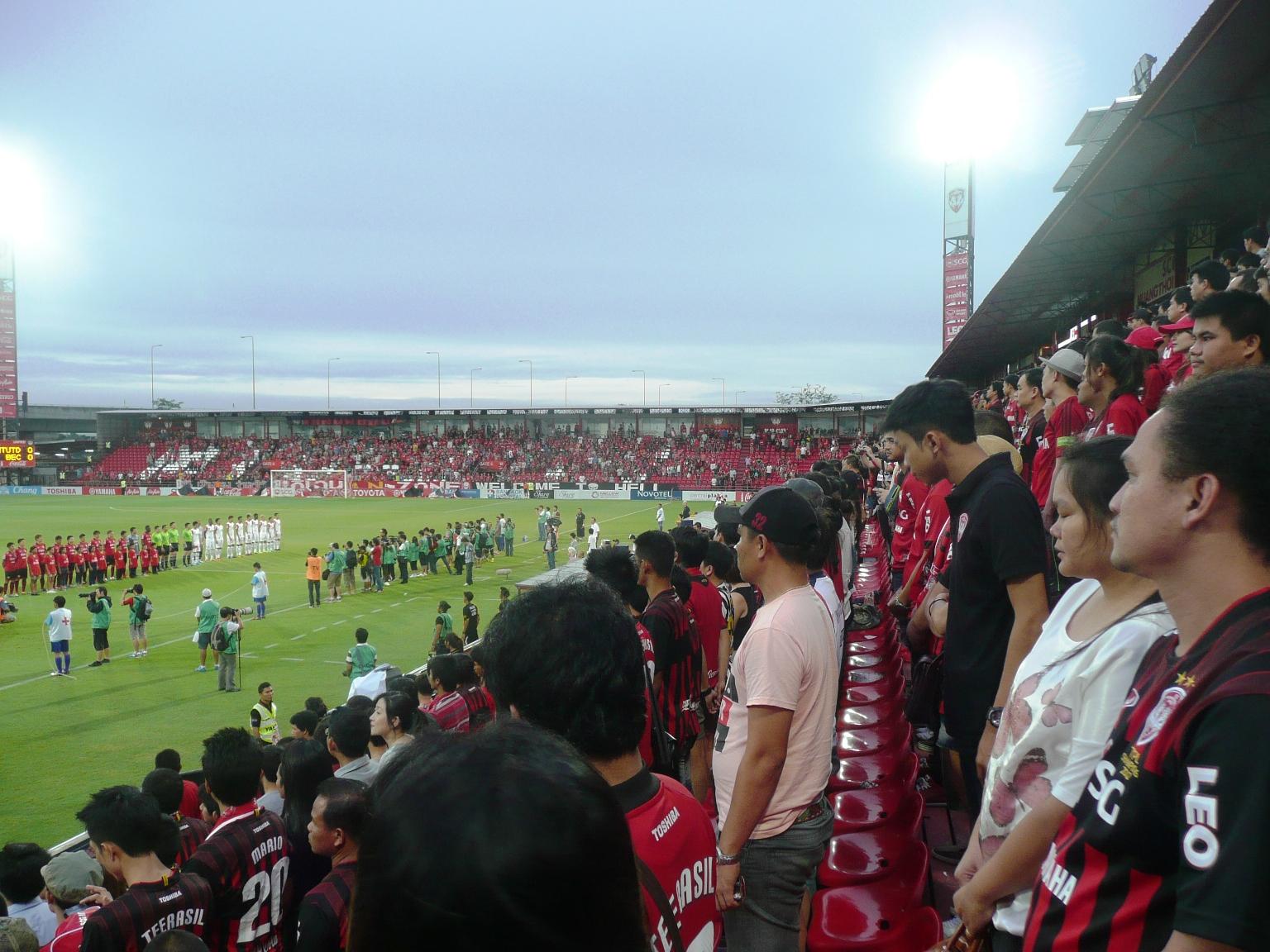 タイのスタジアムを行く〜ノンタ...
