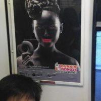 タイ・ダンキンドーナッツの広告