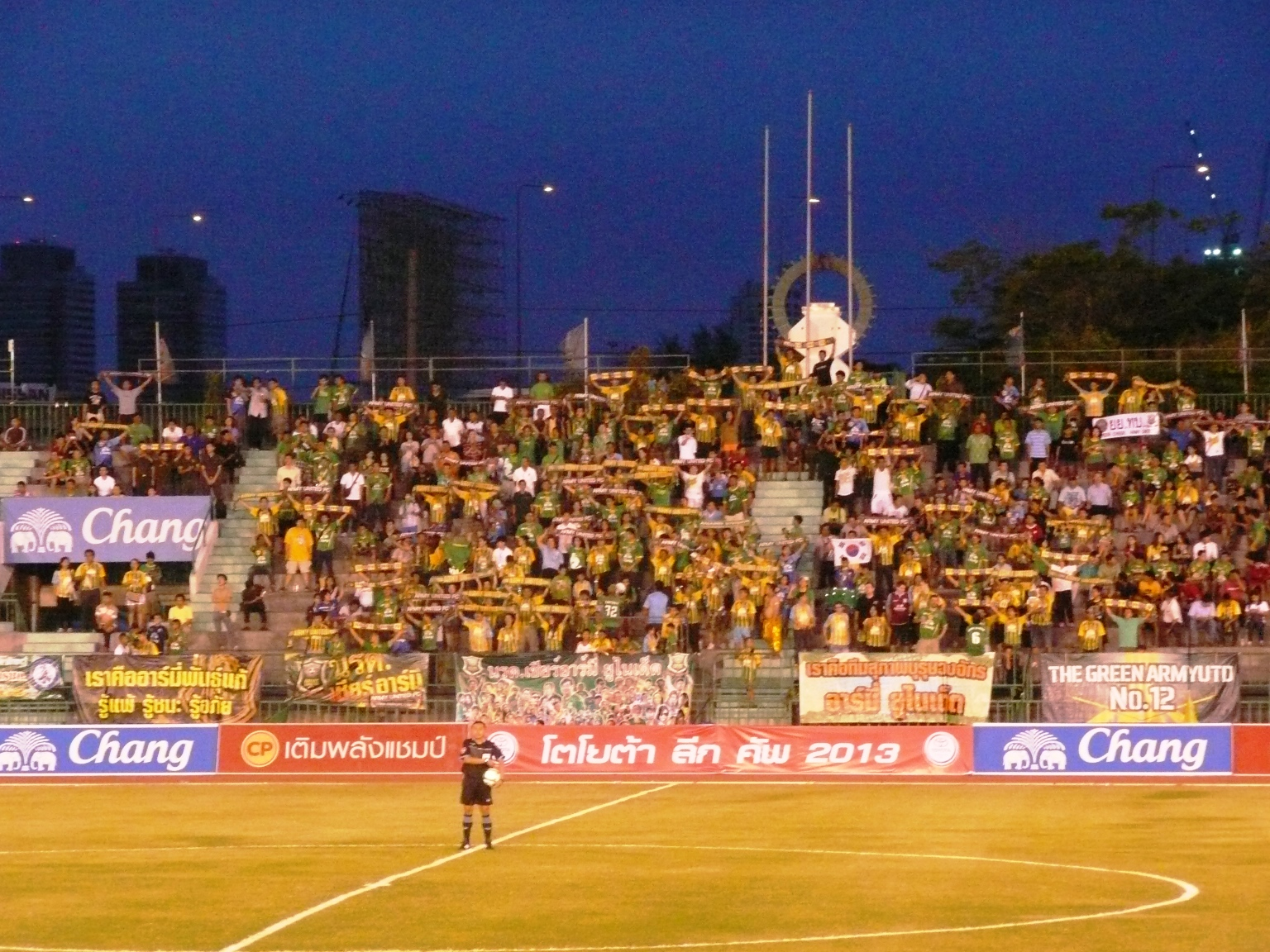 タイのスタジアムを行く〜バンコク都/タイ・アーミースポーツスタジアム