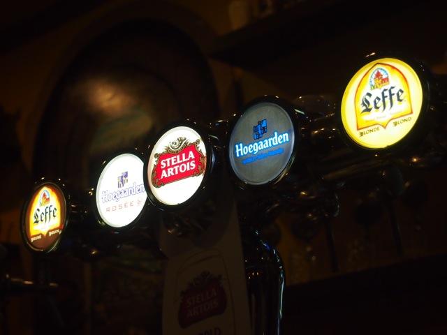 コワだりの生ビール