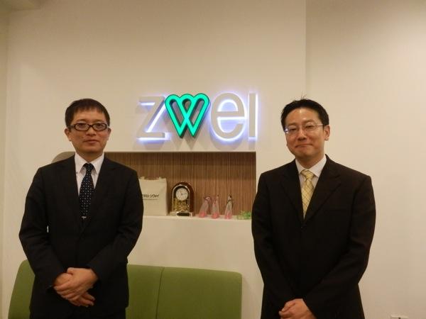 マネージング・ダイレクターの豊永浩司氏(左)と エグゼクティブ・ヴァイス・プレジデントの石川忠彦氏(右)