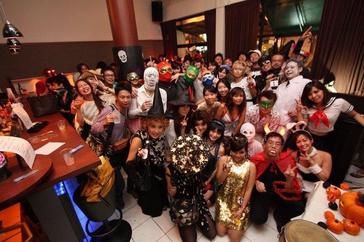 毎年恒例OUTER ROOMのハロウィンパーティー