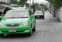 タイに女性専用タクシー