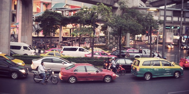 新年限定のバンコクの無料交通機関