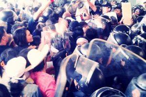 バンコクの反政府デモ