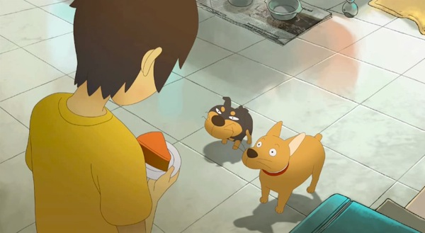憎めない犬のキャラクターデザイン