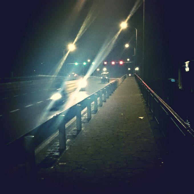 夜景がきれいなバンコク都内の橋も要注意
