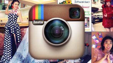 Instagramで人気を煽るタイの女の子