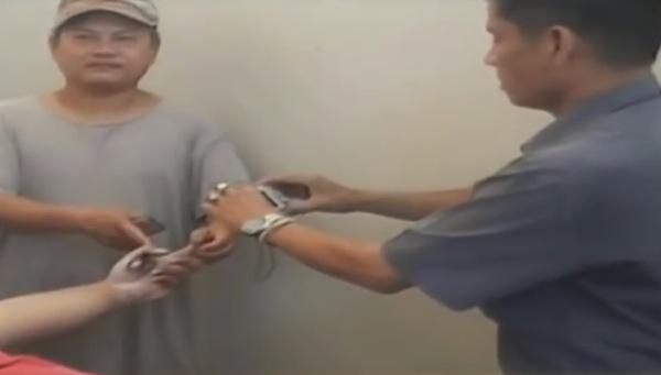 感電死した男性は左手に火傷をおっていた
