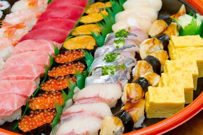 日本のお寿司は各国でやはり人気のメニュー