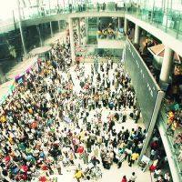 スワンナプーム国際空港で相次ぐ転落事故 移動にはご注意を!
