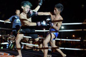 タイのチンピラ VS 現役の若手ムエタイ選手が戦うとこうなる。