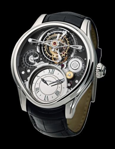 盗まれたMontblancの高級腕時計