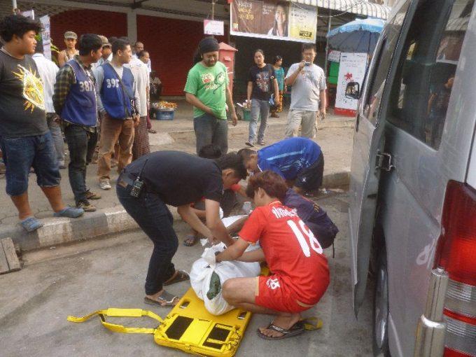 バンコク郊外でビルマ人が熱射病により死亡