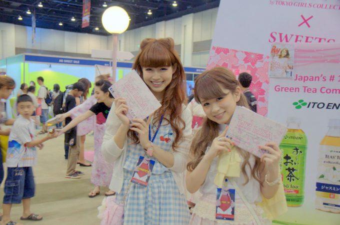 日本のガールズはLIZ LISAのプロモートを