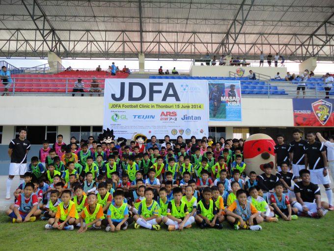 JDFAサッカークリニック