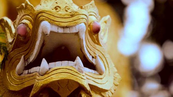 THAILAND - In the Garden of the Dragon