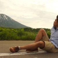 羊蹄山とプータロー