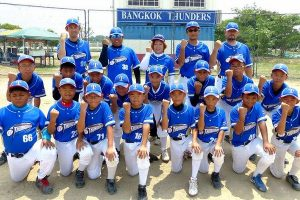 """日本人、タイ人混合の""""タイ代表""""少年野球チーム"""