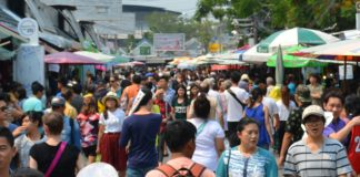 バンコク最大のローカルマーケット「チャトチャック」
