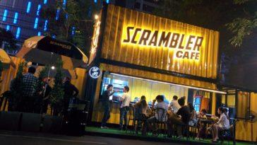 スクランブラーカフェ