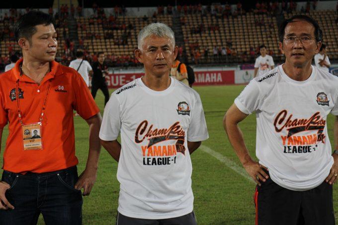 ナコンラーチャシーマーFCを史上初の1部昇格に導いた神戸監督