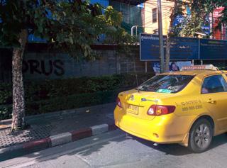 タイのタクシー料金が改訂