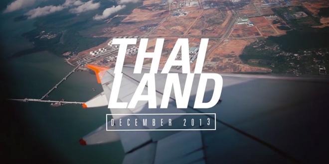 タイの魅力を軽快な音楽と共に・・・