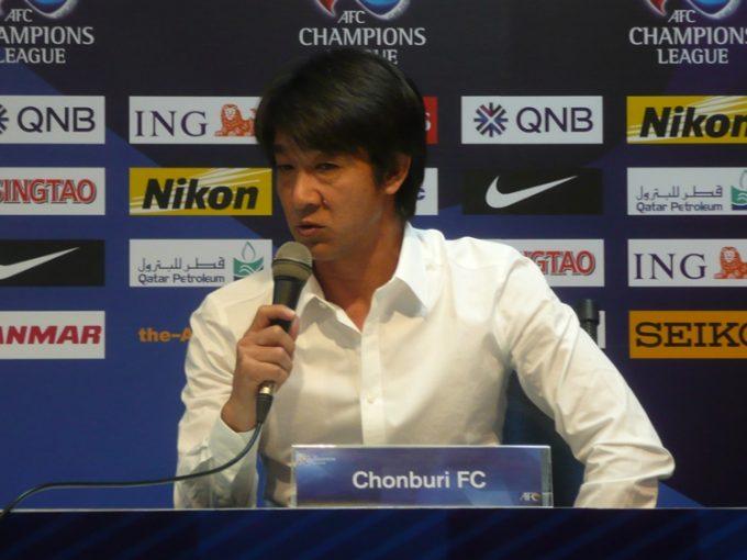 優勝にあと一歩届かなかった和田監督率いるチョンブリーFC