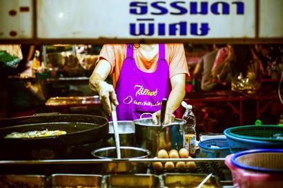 タイの名物とも言える屋台が・・・