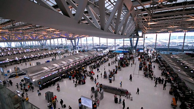 タイのスワンナプーム空港