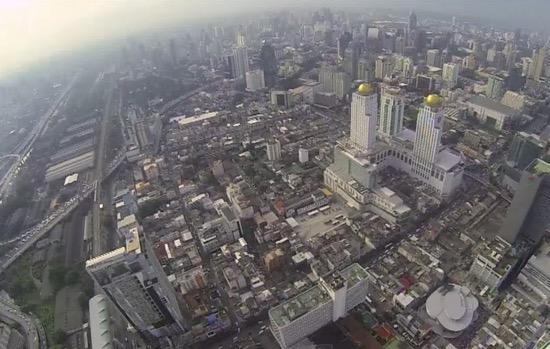 バイヨークスカイタワーから見えるバンコク