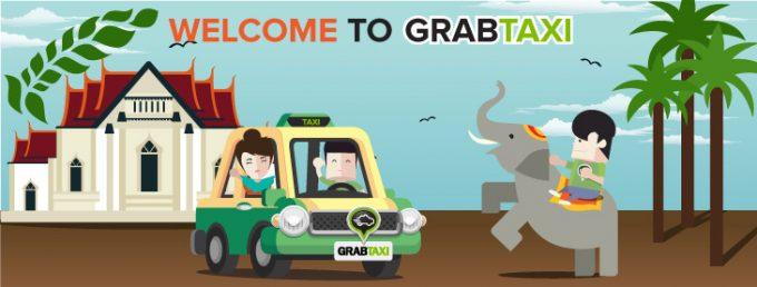 Grab Taxi Thailand