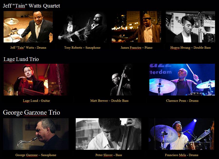 世界で有名なジャズ・ミュージシャン