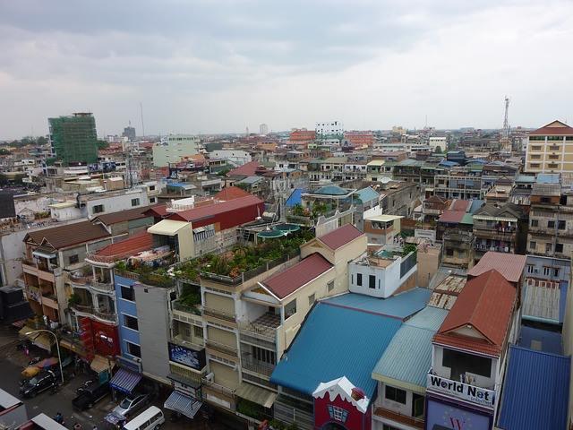 カンボジアのプノンペン