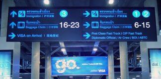 タイの空港でビザランの監視強化