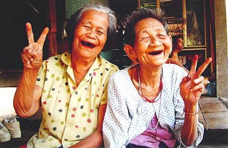タイ人の笑顔