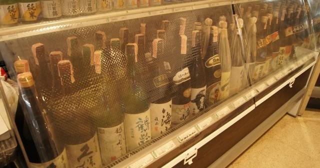 沢山の日本酒