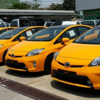 ALL THAI TAXIがテスト運行開始