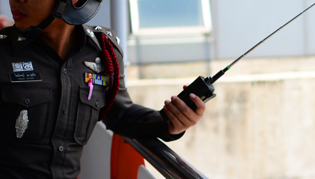 タイ警察のソンクラン対策!