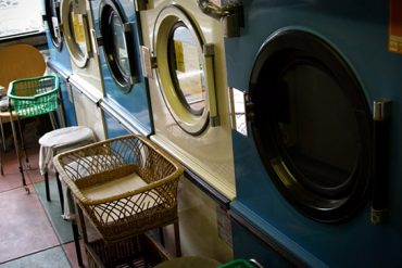 タイのセブンイレブンで洗濯サービス